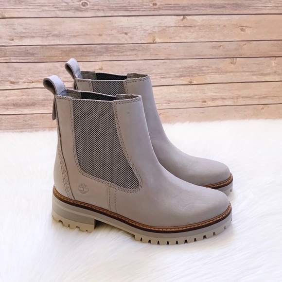 timberland chelsea taupe